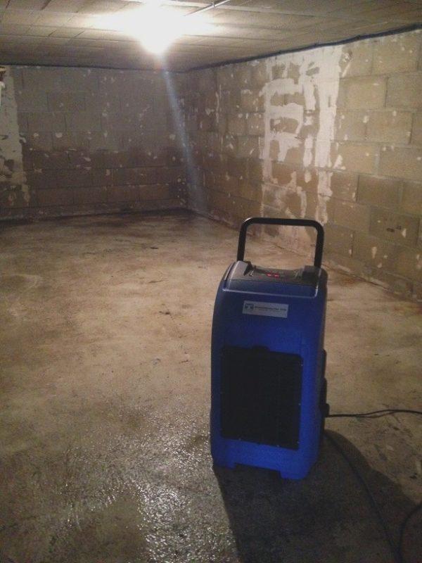déshumidifier une cave avec le deshumidificateur professionnel fulldryer fd65