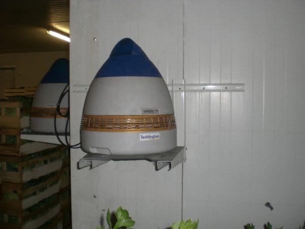 Humidificateur professionnel centrifuge pour chambre froide et serre VAPADISC 777 teddington
