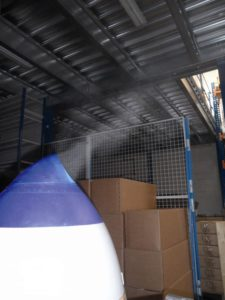 Humidificateur par brumisation et projection de gouttellettes d'eau VAPADISC 777 teddington