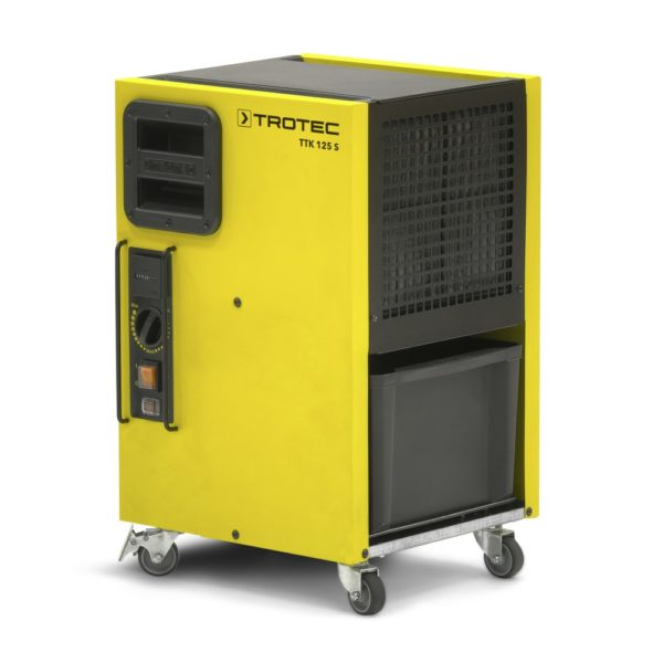 trotek ttk 125s, déshumidificateur pour assèchement des matériaux lors de travaux du bâtiment