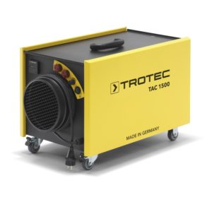 trotec tac1500 purificateur d'air de chantier