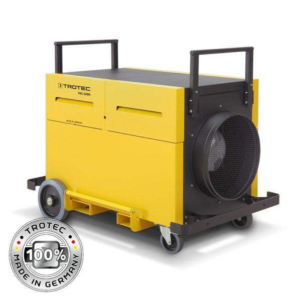 purificateur de chantier suite à un incendie ou une inondation : purificateur trotec tac 6500