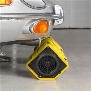 turbo ventilateur permettant d'évacuer l'air sale ou l'air pollué d'une pièce vers l'extérieur