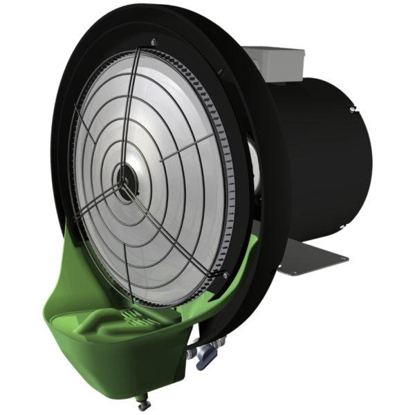humidificateur industriel pour rafraichir l'air extérieur vapadisc 750