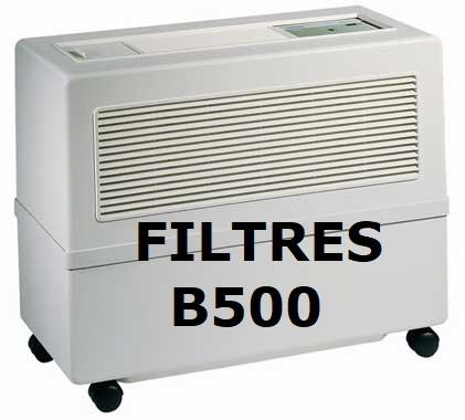 filtre de remplacement pour humidificateur B500 brune teddington