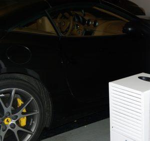 protéger de l'humidité votre voiture de luxe, voiture de sport ou voiture de collection avec le déshumidificateur secosteel