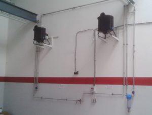 teddington vapadisc p5, humidificateur pour entrepot et usine par système de brumisation de l'eau