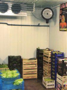 rafraichisseur d'air vapadisc 750 pour entrepot et fruits et légumes, chai de vins et tonneaux ou barriques