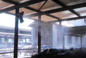 rafraichisseur d'air brumisateur pour ferme d'élevage vapadisc 750 teddington