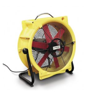 brasseur de ventilation pour gaine et assèchement accéléré de chantier ttv4500hp